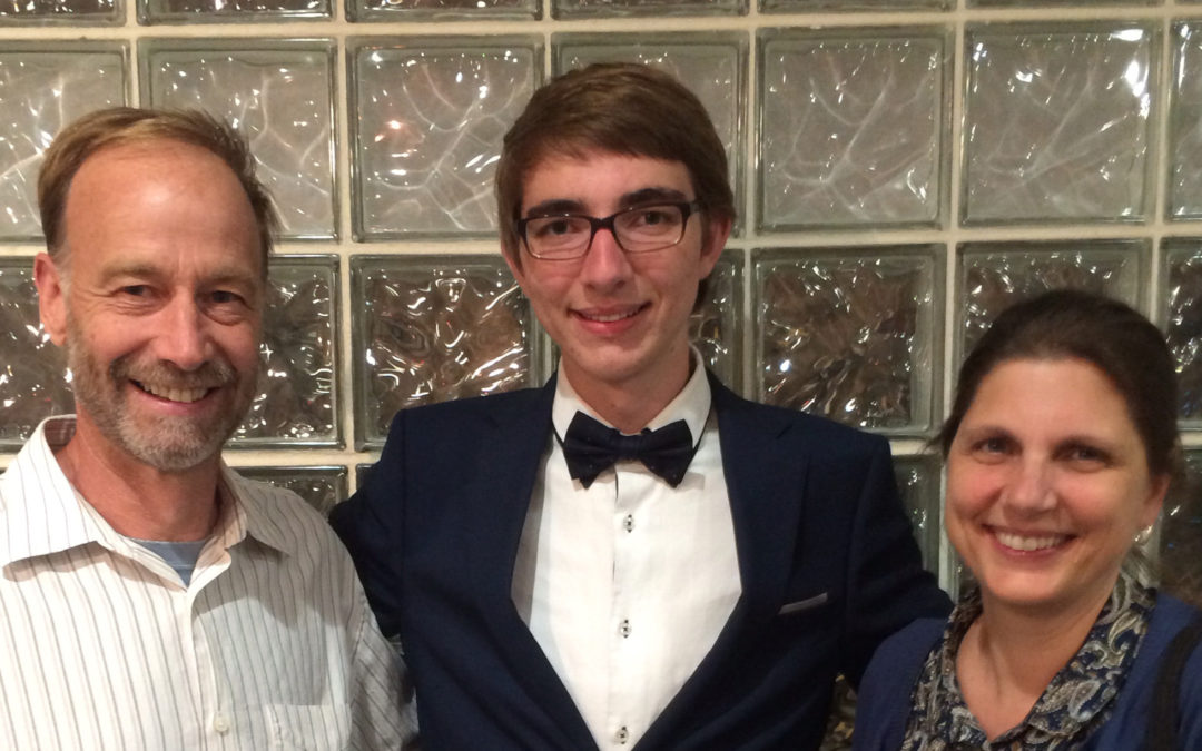 EWS Awards Francis Bealey Memorial Scholarship to Austin Rannestad of Chester