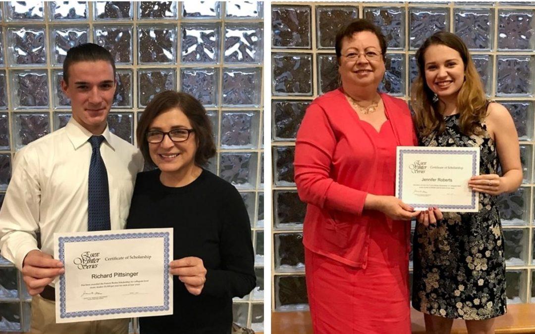 Essex Winter Series Awards Francis Bealey Memorial Scholarships