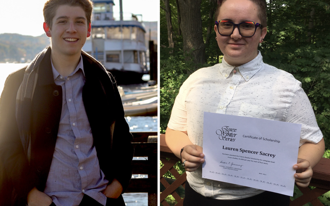 Essex Winter Series Awards Two Francis Bealey Memorial Scholarships for 2021
